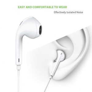 Earphones with Microphone [2 Pack] Premium Earbuds Stereo