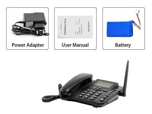 GSM Desktop Phones with Sim-card Slots